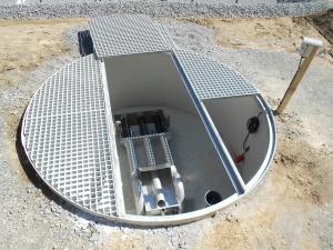 cuve acqua pour eaux brutes